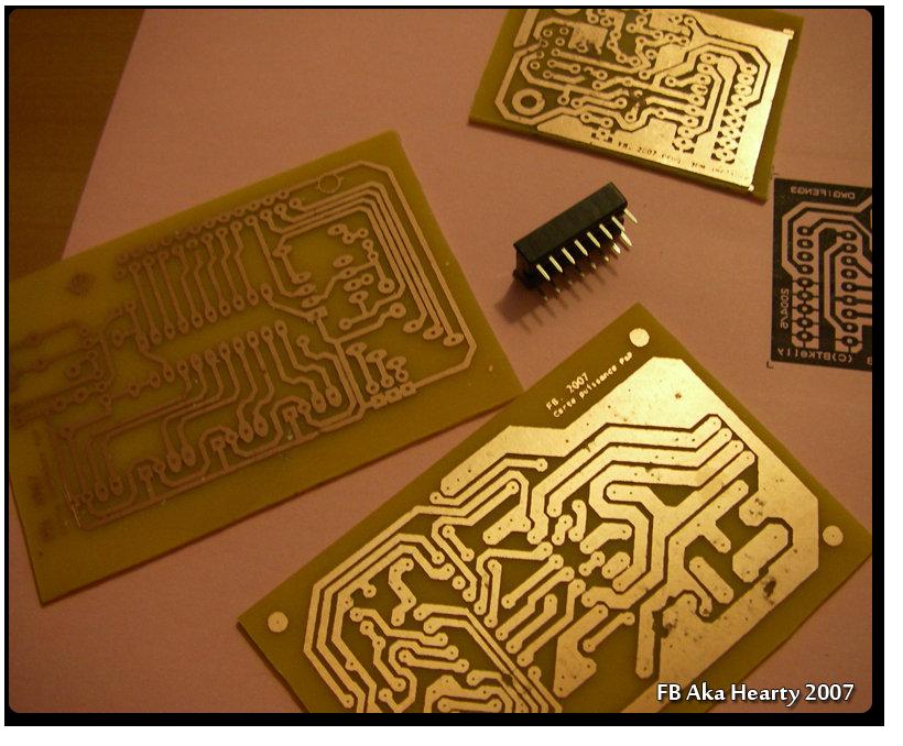 circuit imprime vierge
